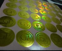 al por mayor etiquetas de diseño de impresión-¡Cambio libre del color del design3D! Impresión de encargo segura de la etiqueta engomada de la etiqueta del holograma, puede ser con número serial / único, y rasguñar la capa