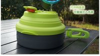 aluminum saucepan - Original Aluminum Alloy L Multifunctional outdoor Kettle with boil whistle Camping Saucepan outdoor cooking pot Cookware