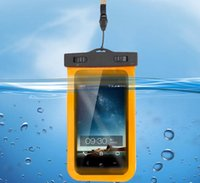 Wholesale Can touch screens PVC mobile phone waterproof bag necessary travel bag transparent waterproof camera set
