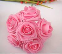 Cheap Popular Bridal Bouquet Rose Flower Party Wedding Bridesmaid Decoration 10 PCS