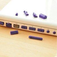 Wholesale Silicone Anti Dust Plug Cover Set Stopper Laptop Dust Plug Laptop Dustproof Plug Usb Dust Plug