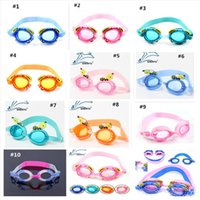 Wholesale 2015 Children Swimming Goggles Swimming Glasses Kids Boys Girls Diving Mirror Glasses with Earplug Nose Clip Swim Eyewear Christmas Gifts