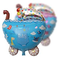 airline films - Birthday Party Queen Size Aluminum Foil Balloon Baby Car Styling Aluminum Film Balloon
