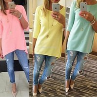 bell sleeve tunic - Women s Fashion Shirt Sleeve Long Tops Ladies Beach Female Casual Tunics Women Shirt