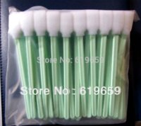 alcohol foam - pc Lintless Form Swabs to clean printers ink heads Printer Cleaner Swab with alcohol resistant foam head