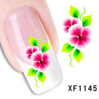 beauty nail wraps - Nail Art Water Sticker Nails Beauty Wraps Foil Polish Decals Temporary Tattoos Watermark JIA423
