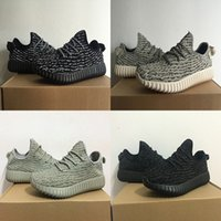Wholesale New Man Yeezid Boost Moonrock Women Running Shoes Low Outdoor Shoes sneaker fasion Cheap Yezzy sport trainers with original box