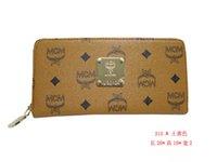 purses and handbags - Women clutch zipper leather purse women MCM wallet purses and handbags designer carteira feminina