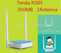 Wholesale Tenda N305 Mbps Wireless Routers Ports WIFI Repeater g b n Support Fireware order lt no track