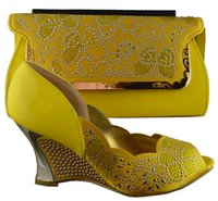 Cheap women's shoes Best African shoes with handbag