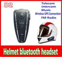 Wholesale hot helmet bluetooth headset M BT Intercom Headset Helmet Bluetooth Interphone For Motorbike Motorcycle hand free Headset Speaker Helmet