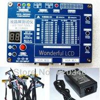 Livraison gratuite New / LCD outil de test LED KIT SET testeur mise à niveau pour ordinateur portable de TV / LCD du panneau de soutien interface 7 -55 pouces LVDS 14 / écran afin de ligne $ 18Personne