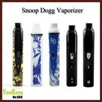 Single ecig - Series Porcelain Snoop Dog Kit Best Weeding Ecig Vaporizer mAH dry herb vaporizer clone Vaporizer VS Snoop dogg Titan1 Tian