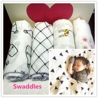 Wholesale baby swaddle muslin blanket baby swaddle wrap blanket blanket towelling baby spring summer baby infant blanket