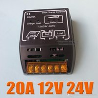 Wholesale 20A BSV20A V V intelligence Solar cells Panel Battery Charge Controller Regulators A3