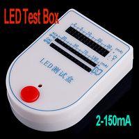 Wholesale FreeshippingMini LED Tester Test Box mA V Battery dropshipping