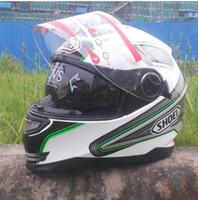 shoei helmets - SHOEI motorcycle helmet full helmet winter helmet men and ladies dual lens motorcycle helmet running