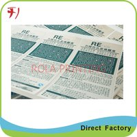 adhesive mailing labels - Customized hot sale printing custom made self adhesive logo labels for packaging shipping or mailing etc
