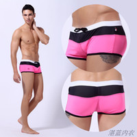 Wholesale Hot Nylon Men Swimwears Sexy Swim Shorts Brand Wangjiang Swimsuit Men s Swimming Trunks Beach Slim Tights Swim Clothing For Man