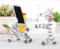 apple office free - New Zebra Pony Adjustable Mobile Phone Holder Stand Tri Hands Free For iPhone Samsung Universal Phone Office Home Lazy Guys