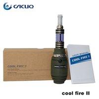 Cheap Cool Fire 2 Innokin E Cig Kit Cigarettes Iclear 30B Clearomizer Atomizer 3.5ml Vaporizer Cool Fire 2 Mod 100% Original Innokin E Cigarette