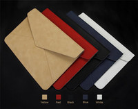 apple laptop bags - Hot Sell PU Leather Case For ipad Pro MacBook13 Bag Cover Case with Magnetic clasp High Quality Suit for inch Apple laptop