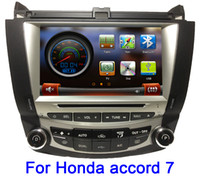 Special In-Dash DVD Player accord player - IN STOCK quot Car DVD Player For Honda Accord auto stereo GPS Navi Bluetooth TV IPOD Radio RDS Free GPS map