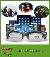 Cheap For Apple iPhone wireless stereo bluetooth sunglasses mp3 Best Bluetooth Headset Wireless bluetooth sunglasses handfree music