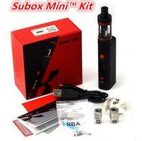 Wholesale Kanger Subox Mini Starter Kit with Clone Subtank Mini sub ohm atomizers KBOX Mini W W battery MOD vs Kanger Subox Nano