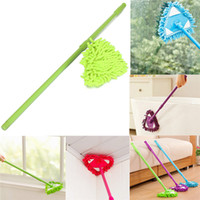 Wholesale Brand New Microfiber Telescopic Household Floor Cleaner Stretch Triangular Dry Wet Clean Mop Home Housekeeping Tools