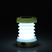 Wholesale 4 Colors Retractable LED Outdoor Camping Lantern Portable Mini Tent Light Emergency Led Camping Lantern Lamp