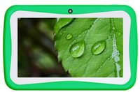Wholesale Kids Tablet PC inch Android RK3026 Dual Core Tablet mb GB Capacitive Screen Dual Camera WIFI DHL