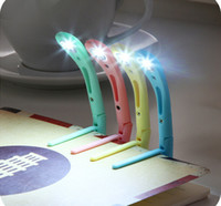 Wholesale Clip book light book clip light LED lights hot sale