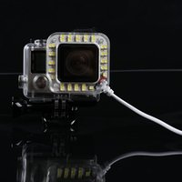 Wholesale Gopros Waterproof LED underwater Diving Light M Waterproof for GoPros Gopros LED Gopro Accessories