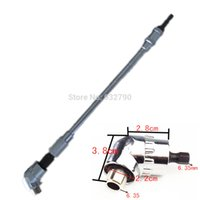 angled socket wrench - Flexible Flex Shaft Quick Change Driver Angle Extension Turning Screwdriver For Mag Screwdriver Socket Wrench Electric Drill Hot order lt no