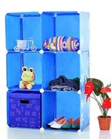 Wholesale Hot sell lattice receive ark DIY cheaper price locker bookcase more color garden home furniture more choose
