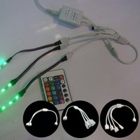 Wholesale led strip pin splitter wire splitter cablie to to to splitter connect cable for RGB led strip lighting accessories