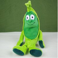 beans peas - PC Original TCC Goodness Gang Plush Green Pea toy hyacinth bean with PP Cotton and Nanoparticle vegetable fruit