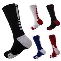 Wholesale USA Professional Elite Basketball Socks Long Knee Athletic Sport Socks Men Fashion Compression Thermal Winter Socks