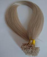 Cheap Top Quality 100% Brazilian human Hair Extensions U Tip Factory 7A double drawn human U tip Flat tip I tip hair extensions DHgate