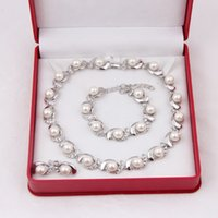 Wholesale 2014 Fashion bridal jewelry set most popular gold plating simulated pearl jewelry sets