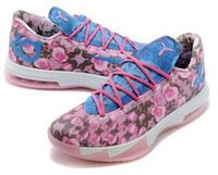Cheap New Arrival High Quality Kevin Durant KD 6 VI Elite Men Basketball Shoes KD VI 6 Sneakers Shoes KD6 Aunt Pearl Floral Light Arct