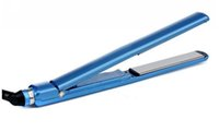 Wholesale 1 inch Hair Straightener Straightening Flat Iron with Retailed Box BLUE Color
