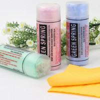 Wholesale LJP623 compressed PVA chamois Magic towel tissue hair drying car cleaning bath make up baby care travel Size cm