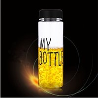 Wholesale quot Back to School quot Bigbang Today s Special My Bottle Water Bottle Drink Bottle with quot Do not touth my bottle quot Gift Bag RY14101