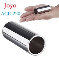 ace bass - High Quality Joyo ACE Guitar Slide Bass Cylinder Tone Bar Chrome plated Stainless Steel Metallic Dropshipping