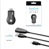 Wholesale Ezcast MEDIA PLAYER M2 Miracast TV Stick PUSH CHROMECAST WiFi Display DONGLE DLNA IOS Android HDMI P