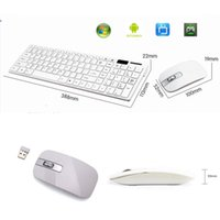 apple keyboard and mouse - New Wireless White G Optical Keyboard and Mouse USB Receiver Set For PC Apple Mac