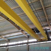 Cheap Double beam bridge cranes CHD Series with Wire Rope Electric Hoist 3.2 tons - 63 tons box beam $2000- $15000  set