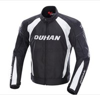 motocross clothing - DUHAN Men s Motocross Off Road Racing Sports Jacket Motorcycle Windproof Riding Jaqueta Clothing with Five Protector Guards